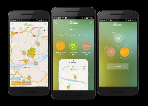 application android mobile végé