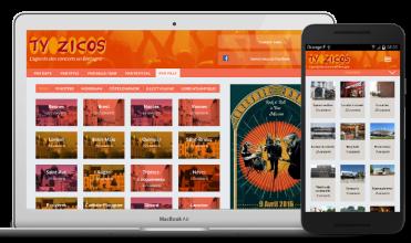 site web drupal agenda concerts